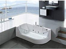 WHIRLPOOL BATH TUB Venice WHITE HOT TUB 170x80cm