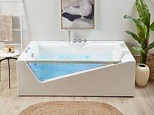 Whirlpool Bath White Sanitary Acrylic Glass Front
