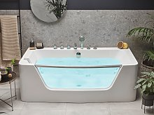 Whirlpool Bath White Sanitary Acrylic Single 170 x