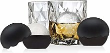 Whiskey Barware Set - 2 Old Fashion Tumbler