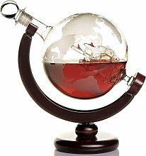 Whiskey carafe globe for alcohol - whiskey