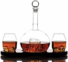 Whiskey Crystal Glass Decanter Sets for Alcohol by