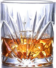 Whiskey Glass Set of 2, Scotch Bourbon 10oz