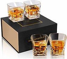 Whiskey Glass Tumbler Heavy Base, Lead Free
