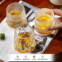 Whiskey Glasses Old Fashioned Spherical Bottom
