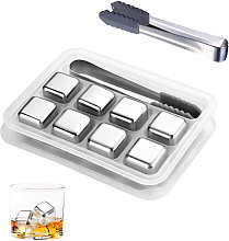 Whiskey Stones Stainless Steel Chilling Stones