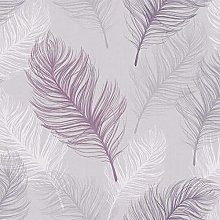 Whisper Feather Quality Wallpaper Arthouse Lavender