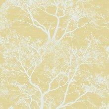Whispering Trees Sparkle Forest Glitter Wallpaper