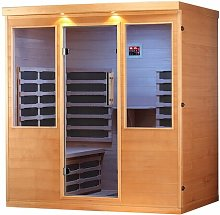 Whistler 4 Person FAR Sauna with Heater Canadian