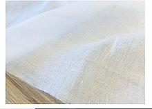 WHITE 100% Cotton Gauze MUSLIN Fabric Voile