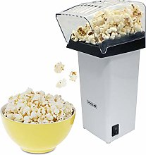 White 1200W Electric Hot Air Popcorn Maker Healthy