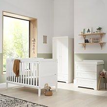 White 3 Piece Nursery Furniture Set - Tutti