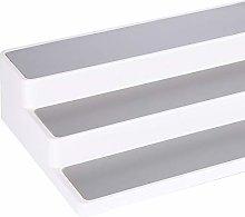 White 3 Tier Shelf Jar Rack Holder Cupboard