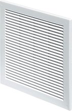 White Air Vent Grille 300mm x 300mm with Fly