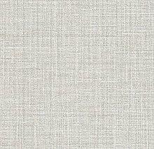 White Brown Grey Glitter Plain Woven Linen Effect