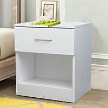 White Chest of Drawer Bedroom Furniture Bedside