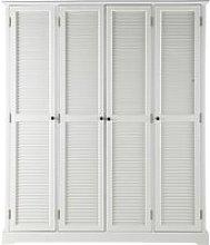 White Closet 4-doors