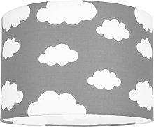 White Clouds Children\'s/Kids Grey Cotton