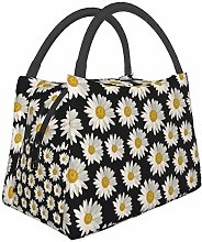 White Daisies On () Abstract Sports Cars Lunch Bag
