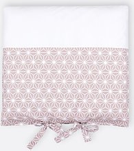 White Diamonds Changing Table Mat Cover KraftKids