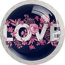 White Drawer Knobs Love and Florals Dresser Knobs