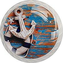 White Drawer Knobs Sailing Dresser Knobs Round