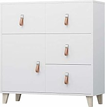 White FIGO Chest of Drawers Storage Cabinet with 4