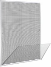 White Insect Screen for Windows 100 x 120 cm