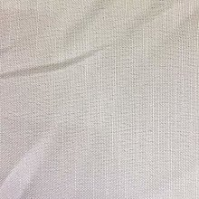 White Linen Look Fabric by The Metre Fire