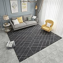 White lines Bohemian Vintage District Rug For home