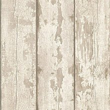 White Painted Brick Extremely Realistic Wallpaper,