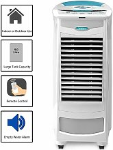 White Portable 9L Evaporative Air Cooler