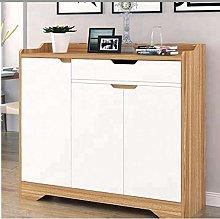White Shoe Storage Cabinet Unit Cupboard Hallway