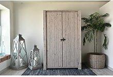White Springs 2 Door Wardrobe Beachcrest Home