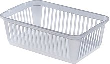 Whitefurze Handy Basket, Plastic, Natural, 25 cm