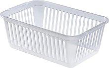 Whitefurze Handy Basket, Plastic, Natural, 30 cm