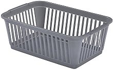 Whitefurze Handy Basket, Silver, 30 x 30 x 30 cm