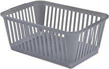 Whitefurze Handy Basket, Silver, 37 x 20 x 20 cm