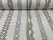 Whitstable Woven Stripe Cotton 140cm Wide Sea