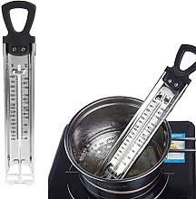 WHK Stainless Steel Candy Thermometer,Chocolate