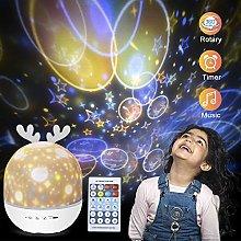WHKADT Night Lights for Kids, Star Night Light