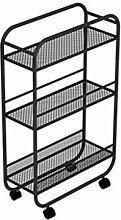 WHL Multi-function Wheeled Movable Shelves Floor