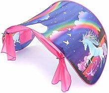 Whobabe Unicorn style Foldable tent with LED light