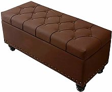 WHOJA Folding Storage Ottoman Rectangular sofa