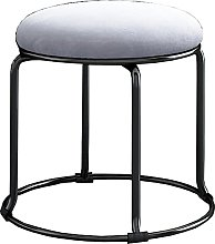 WHOJA Round Stool Home Low Stool Change Shoes