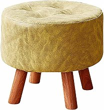 WHOJA Upholstered Footstool Ottoman Children's