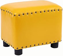 WHOJA Upholstered Footstool Ottoman Coffee table
