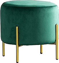 WHOJA Upholstered Footstool Ottoman Home shoe