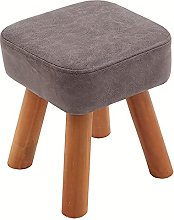 WHOJA Upholstered Footstool Ottoman Household