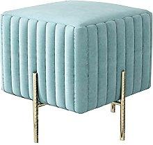 WHOJA Upholstered Footstool Ottoman Modern